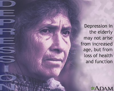 Depression among the elderly